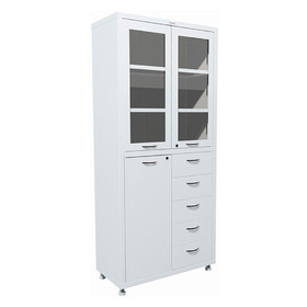 Медицинский шкаф двустворчатый МД 2 1780 R-5