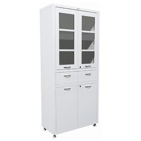 Медицинский шкаф двустворчатый МД 2 1780 R-1