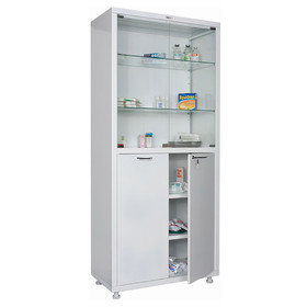 Медицинский шкаф двустворчатый МД 2 1780/SG