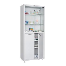 Медицинский шкаф двустворчатый МД 2 1670/SG