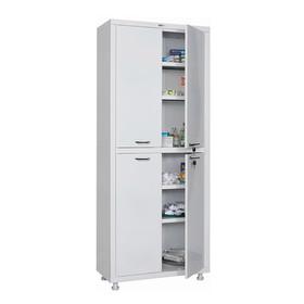 Медицинский шкаф двустворчатый МД 2 1670/SS