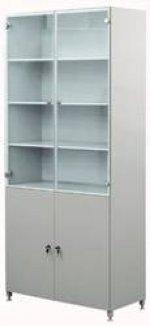 Шкафы для хранения посуды, приборов и реактивов